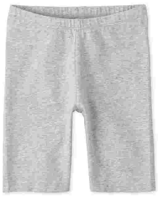 Girls Mix And Match Knit Bike Shorts
