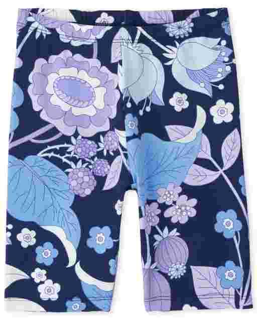 Girls Mix And Match Print Knit Bike Shorts