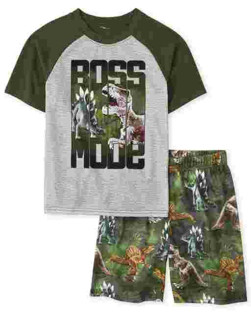 Pijama de niño Dino Boss