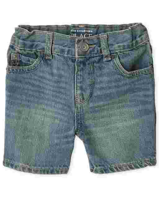 Baby And Toddler Boys Denim Shorts