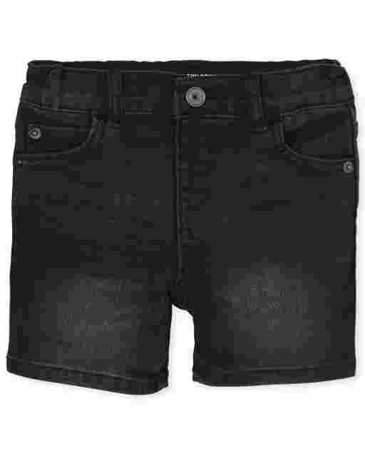 Baby And Toddler Boys Stretch Denim Shorts