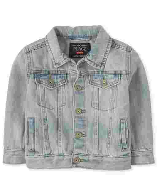 Baby And Toddler Boys Long Sleeve Denim Jacket