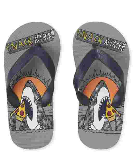 Chanclas Snack Shark para niño