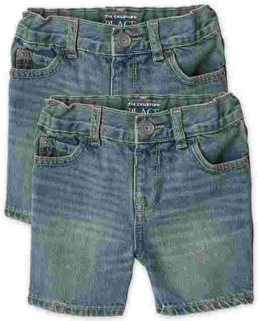 Baby And Toddler Boys Denim Shorts 2-Pack