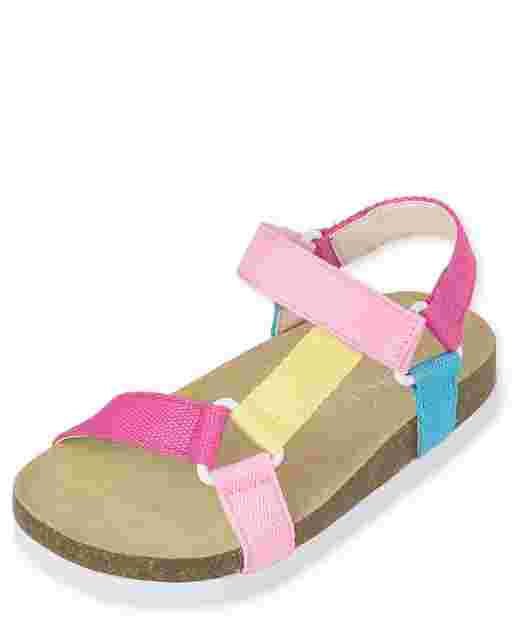 Toddler Girls Rainbow Sandals
