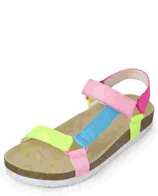 Girls Rainbow Sport Sandals