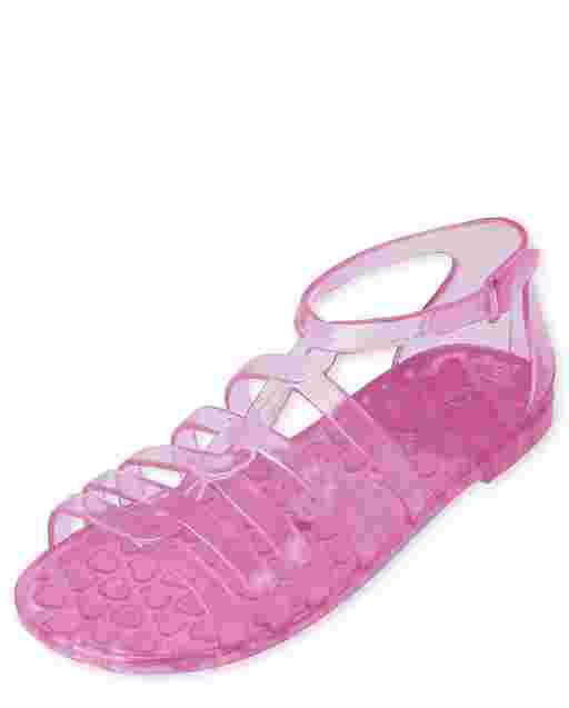 Sandalias de gelatina trenzadas para niñas