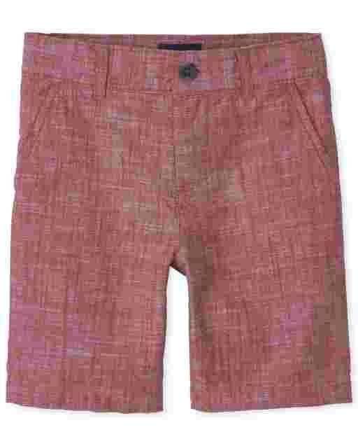 Boys Woven Chino Shorts