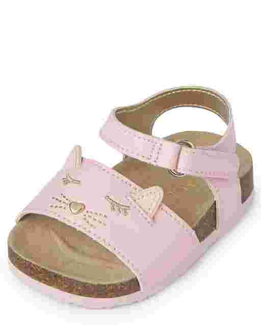 Sandalias de gato para bebés