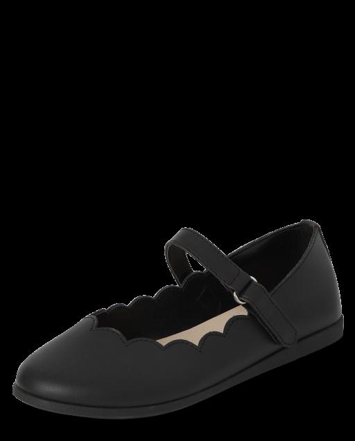 Girls Uniform Comfort Flex Shoes