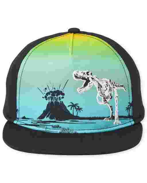 Toddler Boys Dino Baseball Hat