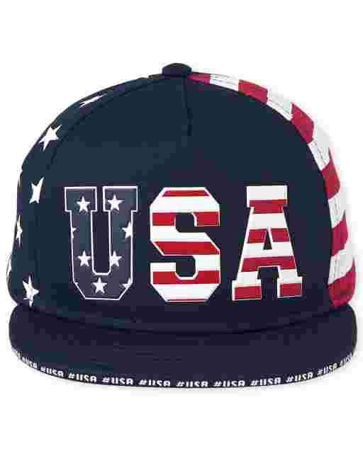 Gorra de béisbol americana para niños pequeños