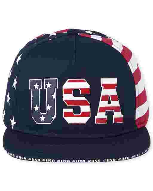 Gorra de béisbol americana para niño