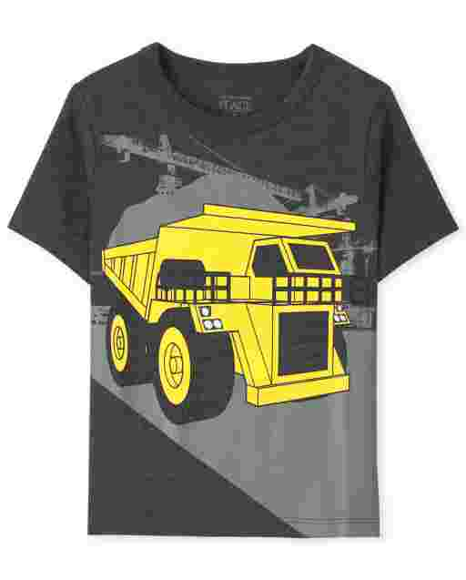 Baby And Toddler Boys Short Sleeve Truck Graphic Tee
