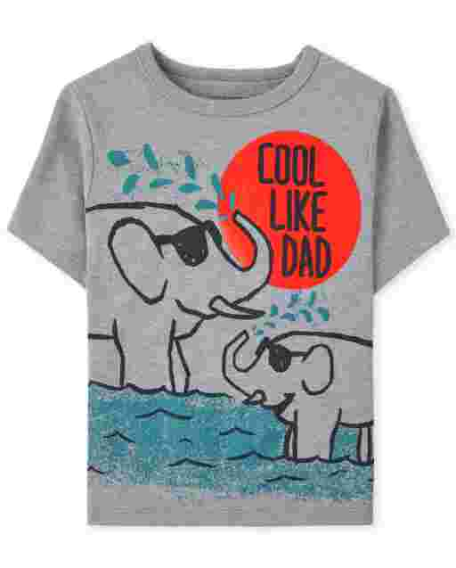 Baby And Toddler Boys Cool Like Dad Graphic Tee