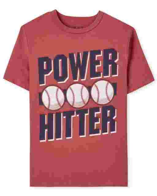 Boys Power Hitter Graphic Tee