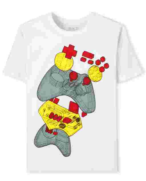 Boys Short Sleeve Video Game Graphic Tee
