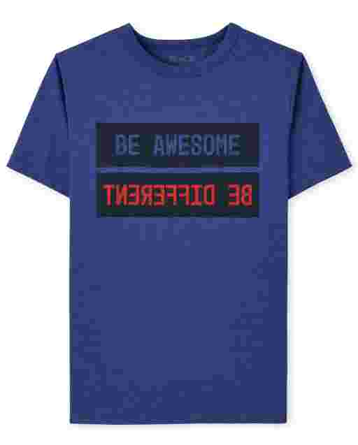 Boys Be Awesome Graphic Tee