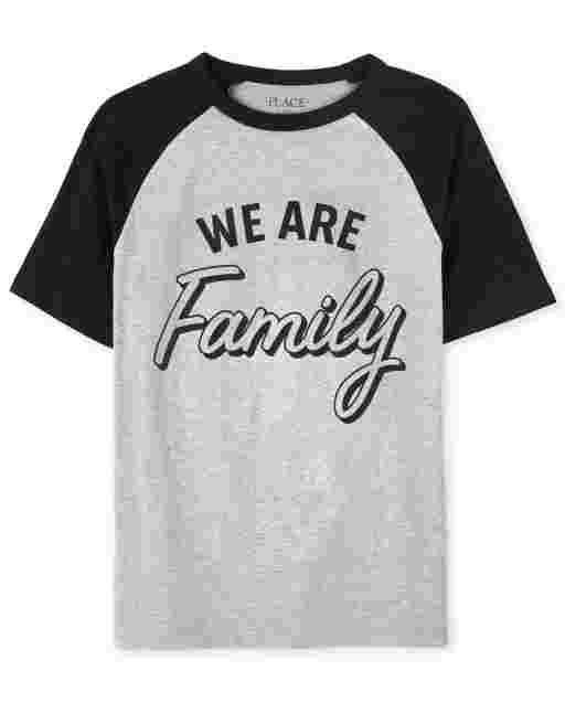 Camiseta unisex de manga corta familiar a juego para niños ' We Are Family '