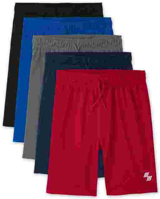 Boys PLACE Sport Knit Basketball Shorts 5-Pack
