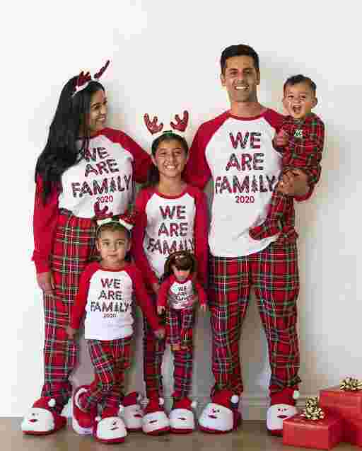 Matching Family Pajamas - WE ARE FAMILY Tartan Collection