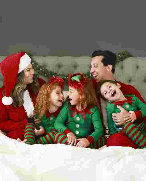 Matching Family Pajamas - Elf Collection