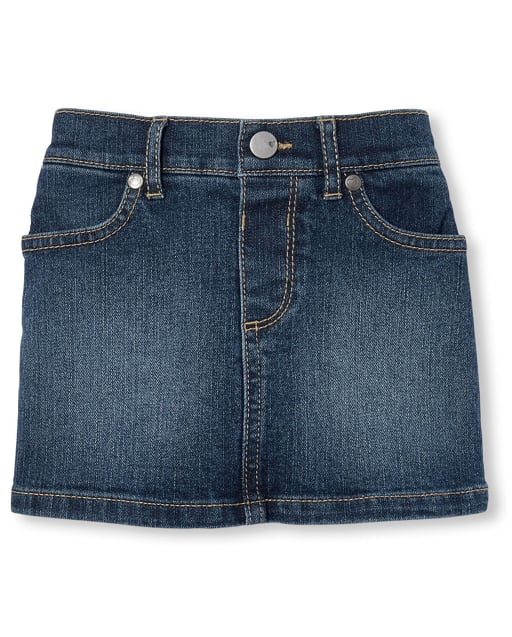 The Childrens Place Girls Denim Skirts