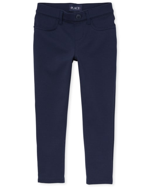 Pantalones Chinos De Uniforme Escolar Para Ninas Ninos De S Place Envio Gratis