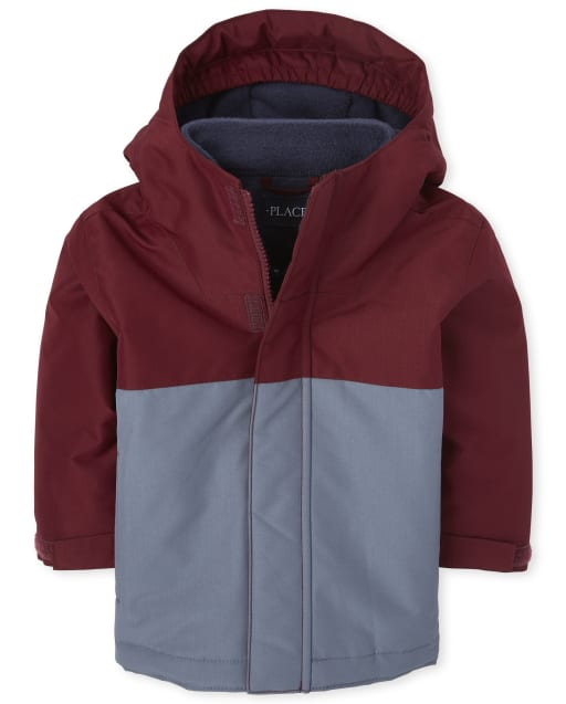 The Childrens Place Baby Boys Hooded Bomber