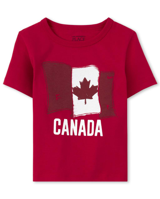 Canada Flag Children/'s Kids Childs T Shirt