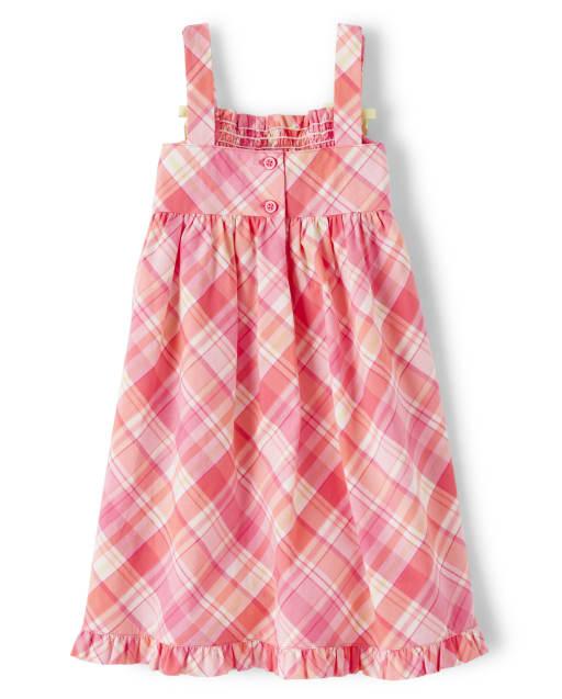 GYMBOREE /'Freshly Picked/' Comfy Knit Dress 5 or 6 Floral Print Spring Summer EUC