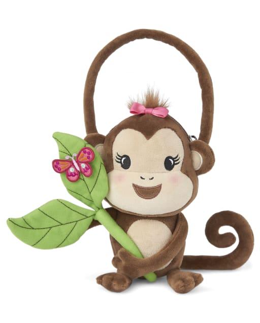 Girls Monkey Bag - Summer Safari