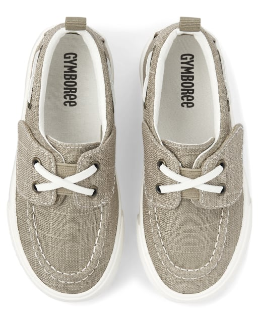 Boys Boat Shoes - Summer Safari