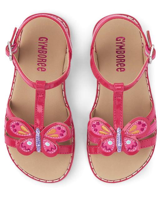 Girls Butterfly Sandals - Summer Safari