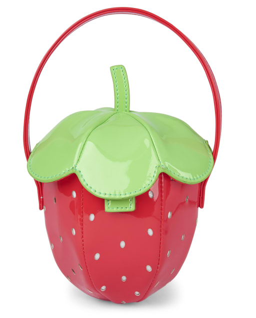 Girls Strawberry Bag - Strawberry Patch