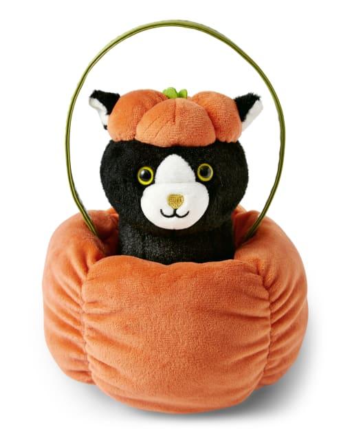 Girls Pumpkin Cat Bag - Lil' Pumpkin