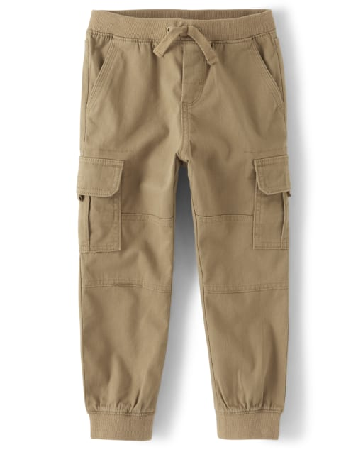 Boys Twill Pull-On Cargo Pants - Every Day Play