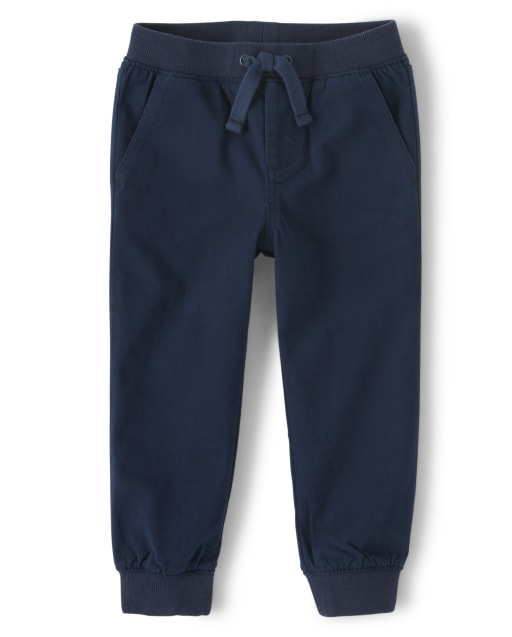 Boys Twill Pull-On jogger Pants - Every Day Play