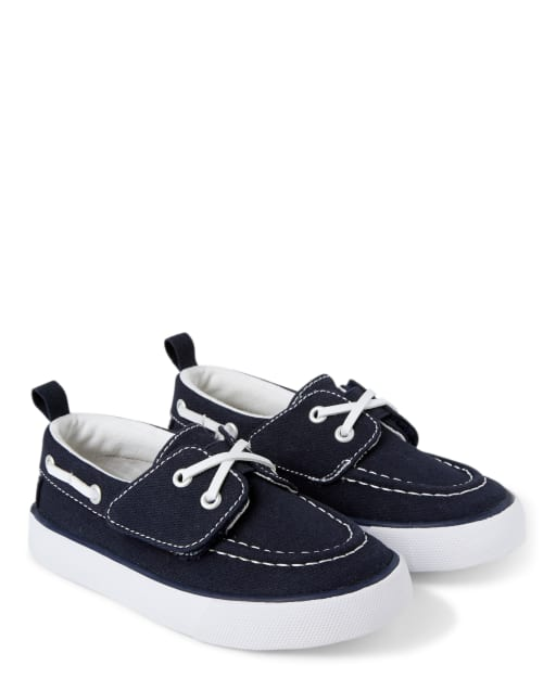 Boys Canvas Boat Shoes - Country Club