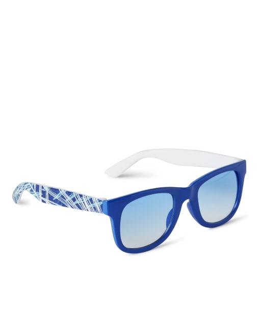 Boys Palm Leaf Sunglasses - Island Getaway