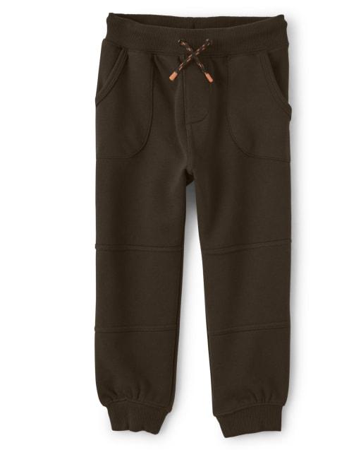 Boys Fleece Jogger Pants - Lil Pumpkin