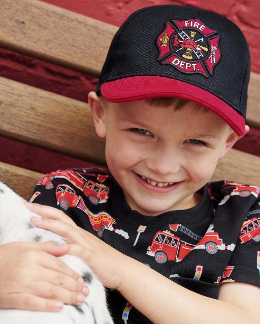 Gorra de béisbol para niños del Departamento de Bomberos - Jefe de Bomberos