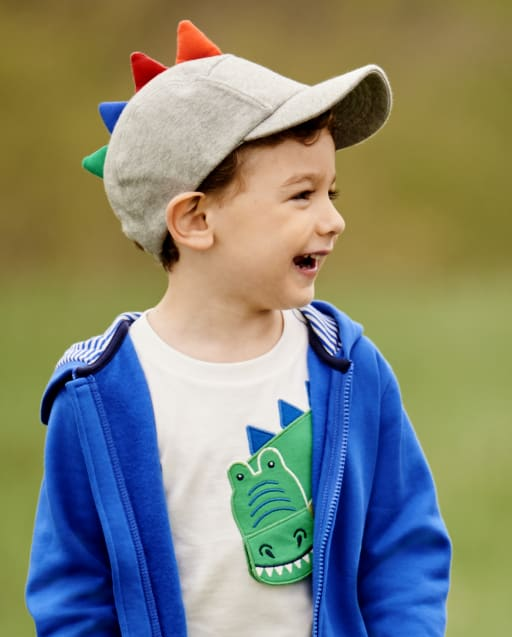 Boys Dino Spike Baseball Hat - Dino Dude
