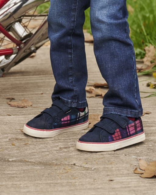 Zapatillas bajas a cuadros para niños - Favorito del '