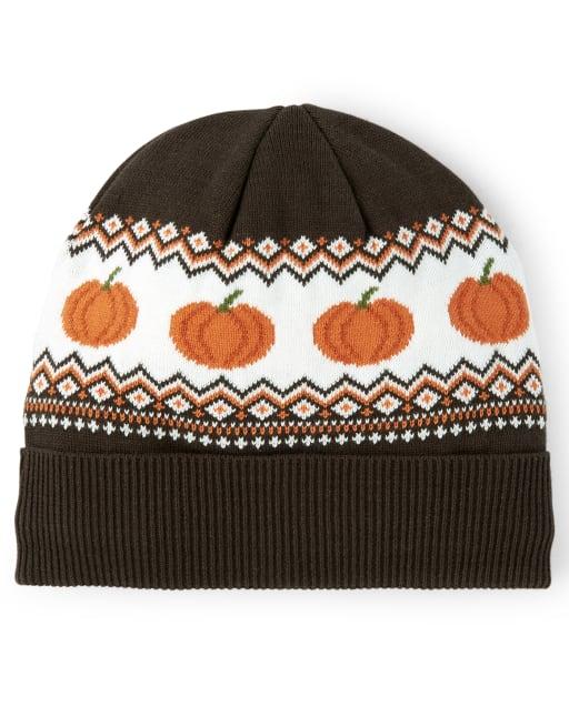 Unisex Girls And Boys Pumpkin Beanie - Lil Pumpkin