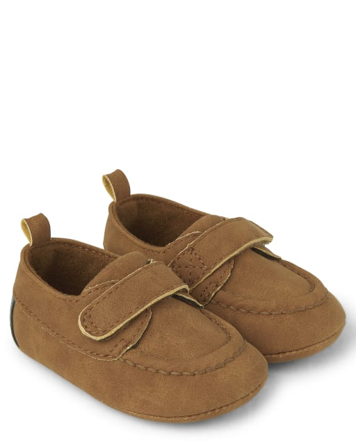 Baby Boys Faux Leather Dress Shoes - Family Celebrations