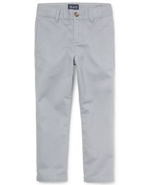 Pantalones chinos de uniforme para niños