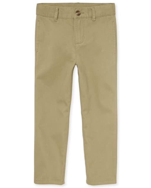 Boys Uniform Woven Chino Pants