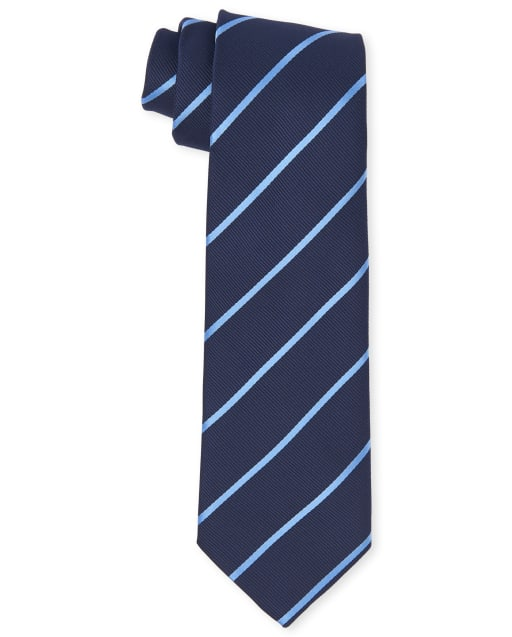 Boys Uniform Pinstripe Tie