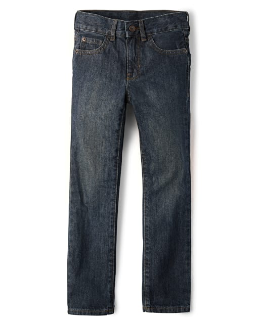 Boys Basic Straight Jeans